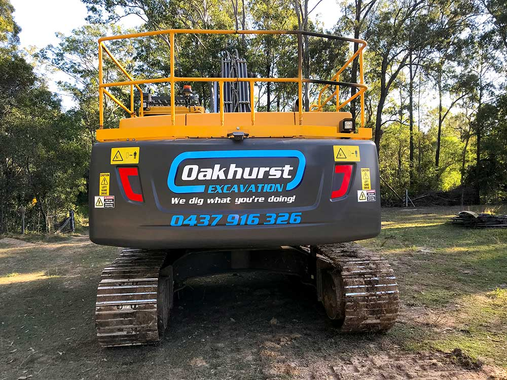 oakhurst excavation - we dig what you're doing