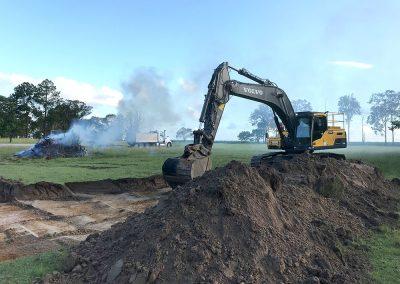 Oakhurst excavation